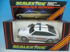 C315 SCALEXTRIC POLICE Rover, new in box