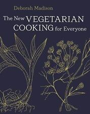 THE NEW VEGETARIAN COOKING FOR EVERYONE - DEBORAH MADISON (HARDCOVER) NEW