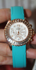 VISAGE ROSE GOLD WITH CRYSTALS AND JELLY BAND LADIE'S WATCH   $285
