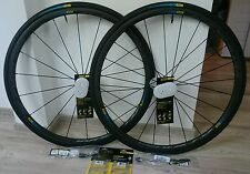 NEW 2016 Mavic KSYRIUM PRO CARBON HAUTE SL Clincher Wheelset, Worldwide Shipping