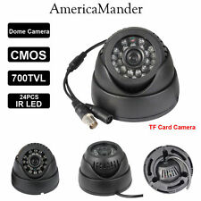 Indoor Outdoor Independent CCTV camera memory card slot 32GB Live TV DVR output