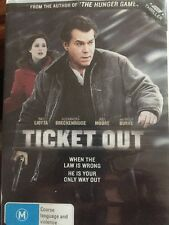 Ticket Out - DVD Region 4 - Ex Rental, Good Confirm - Ray Liotta - Free Post!