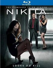 NIKITA Complete Third (3) Season BLU RAY SEALED MINT