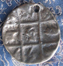 Antique Very Old Tibetan Sky Bronze Melong Thogchags, Nepal