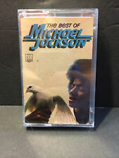 MICHAEL JACKSON - THE BEST OF - RARE SEALED SPAIN SPANISH IMPORT CASSETTE TAPE
