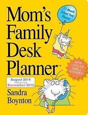 Mom's Family 2015 Desk Planner-ExLibrary