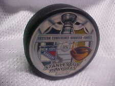 2007 NHL Stanley Cup Playoffs Dueling Puck New York Rangers v Atlanta Thrashers