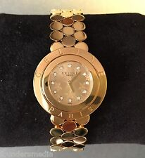 Rare Vintage Celine Paris Diamond Face Gold Swiss-made Womens Watch