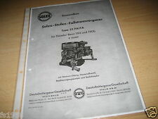Mercedes 190 und 190 b,  Solex 32 PAITA Vergaser - Ersatzteileliste