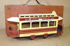 SCRATCH KIT BUILT 3.5 inch GAUGE SUNDERLAND TRAMWAYS TRAM TROLLEY CAR oy