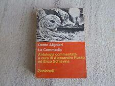 Divina Commedia Antologia commentata Alessandro Russo Enzo Schiavina Zanichelli
