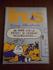 LINUS n. 12 - DICEMBRE 1973 - milano libri - fumetto d'autore