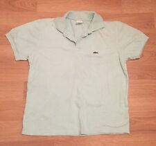 Mens Lacoste Polo Shirt Large L Short Sleeve Casual Light Green/Mint
