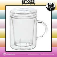 BITOSSI HOME. TEA TIME Infusiera con coperchio e filtro | Infuser lid and filter