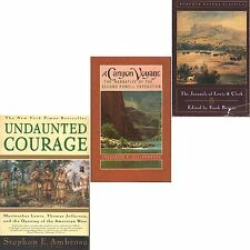 LEWIS CLARK Bergon CANYON VOYAGE POWDELL Dellenbaugh UNDAUNTED COURAGE lot #24