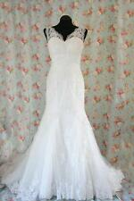 Wedding dress Joyce bridal gown 1365 Diango lace made to measure any size