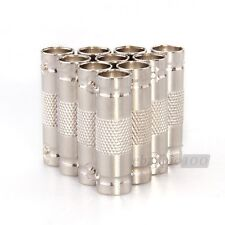 10pcs BNC Coupler Female to Female Connector for Security CCTV Camera