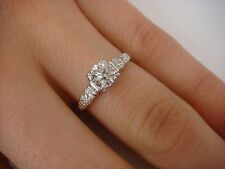 !ANTIQUE 0.50 CT T.W. OLD EUROPEAN CUT DIAMOND ENGAGEMENT RING 3 GRAMS SIZE 6