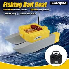 T168 RC Bait Boat Lure Carp Fishing w/2.4G 500m Stepless speed Remote Control