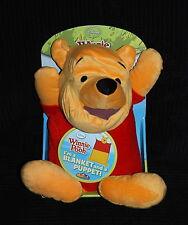 Disney Winnie the Pooh cuddle uppet couverture/marionnette doudou Pets bnip