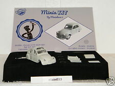 CITROËN 2 CV AZLP 1961 Swarovski® designed By Minialuxe France 1/43è Ref Kit_001