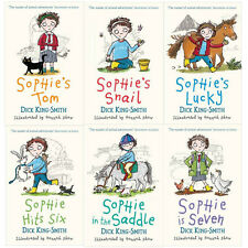 Dick King Smith Sophie Stories 6 Books Collection Set,Sophie in the Saddle ...UK