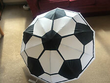 UMBRELLA FOLDING FOOTBALL SOCCER UNIQUE DESIGNER GIFT