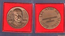 Médaille Louis Pradel Maire de Lyon 1957 1976 + Boite