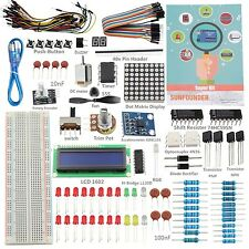 Sunfounder Project Super Starter Kit electronics components set with Tutorial...