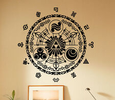The Legend of Zelda Wall Decal Video Game Vinyl Sticker Unique Art Decor 65(nse)