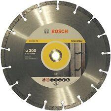 """BOSCH 12 """" 300 mm Professional universale diamante taglio disco lama 2608602796"""
