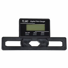 LCD display Digital Pitch Gauge Blades degree angle for align 450 700 RC heli E