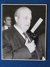 "Original Press Photo - 10""x8"" - Raimundo Saporta - FIFA World Cup 1982 President"