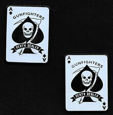 DEATH DEALER GUNFIGHTERS ACE OF SPADES DEATH CARD Challenge Coin