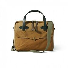 Filson 70324 Tablet Briefcase Tan Fully Padded Bag Bridle Leather Handle