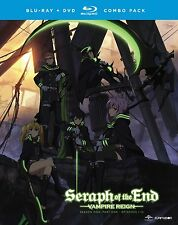 Seraph Of The End . Vampire Reign . Season 1 Part 1 . Anime . 2 DVD + 2 Blu-ray