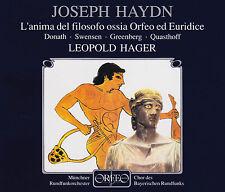 Haydn: L 'anima del filosofo/Orfeo ed Euridice quasthoff, HAGER, 2 CD, comme neuf