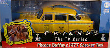 GREENLIGHT COLLECTIBLES 1:18 SCALE DIECAST METAL YELLOW 1977 CHECKER TAXI CAB
