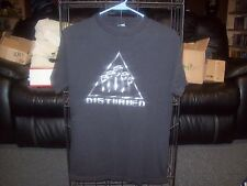 Disturbed Ten Thousand Fists Band Shirt T-Shirt Size Small Save On Shipping