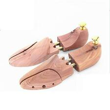 Pair Cedar Wooden Adjustable Shoes Keeper Stretcher Shaper Tree Mens US 8-9