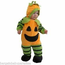 TOTALLY GHOUL Plush Pumpkin Halloween Costume Infant 6-12 Months