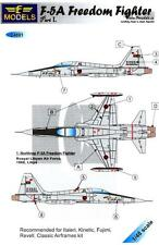LF Models Decals 1/48 F-5A FREEDOM FIGHTER Royal Libyan Air Force