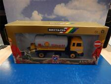 BRITAINS SHELL PETROL TANKER VOLVO LORRY AUTOWAY ROAD SERIES 9911 MIB 1:32