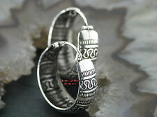 1 Paar Ohrringe CREOLEN 925er Silber TRIBAL Ohrschmuck Keltisch celtic Snake