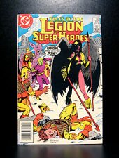 COMICS: DC: Legion of Super-Heroes #322 (1980s) - RARE (flash/batman/wonder)