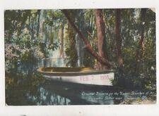 Escambia River Pensacola Fla USA 1910 Postcard 937a