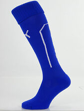 1 PAIR 'LEICESTER CITY' PUMA MENS FOOTBALL SOCKS UK SHOE SIZE 9-11 (L)