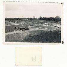 Laufgraben Graben Stellung Anlage Festung Frankreich Belgien Bunker 2 WK