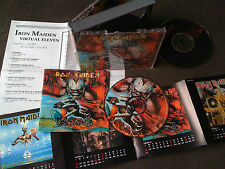 IRON MAIDEN / virtual eleven /JAPAN LTD 2CD calendar
