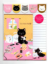 Kawaii Neko Cat Video Games Snacks Letter Set Japan Stationery